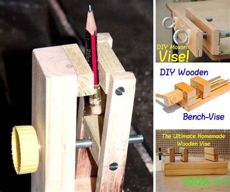 How To Make Your Own Bench Vise