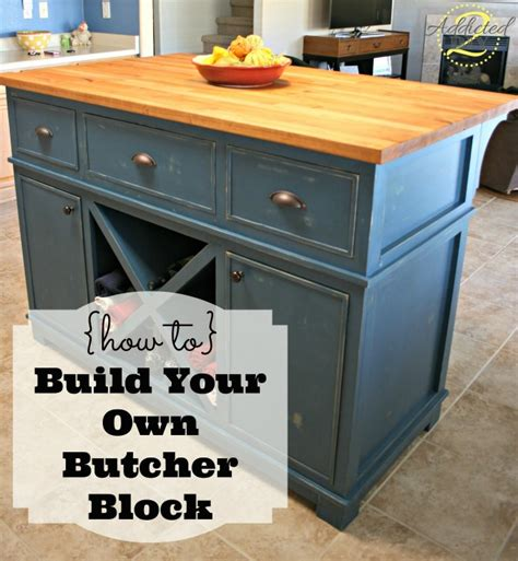 How To Make Your Own Butcher Block Table