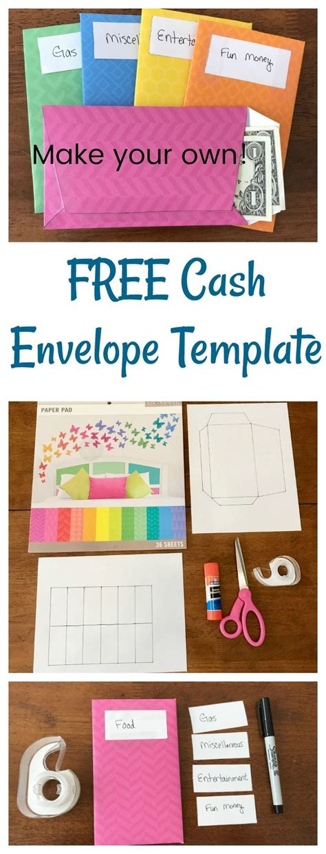 How To Make Your Own Cash Envelopes