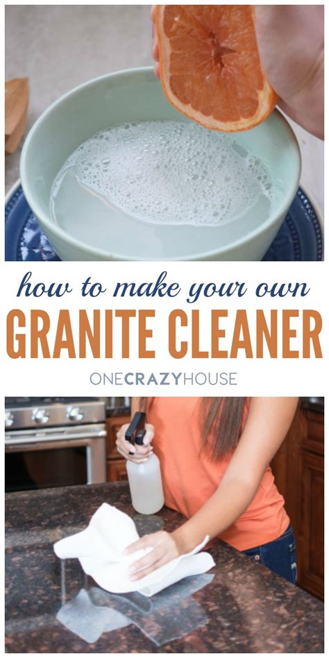 How To Make Your Own Countertop Cleaner