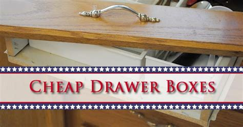 How To Make Your Own Drawers For Sale