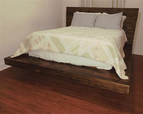 How To Make Your Own King Size Platform Bed