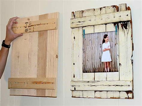 How To Make Your Own Picture Frames From Wood