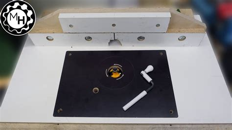 How To Make Your Own Router Table Insert