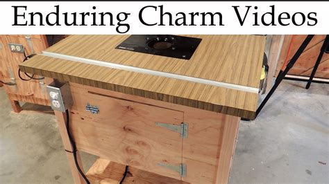 How To Make Your Own Router Table Youtube
