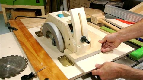 How To Make Your Own Table Saw Roller Stand