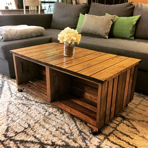 How To Make Your Own Wood Coffee Table