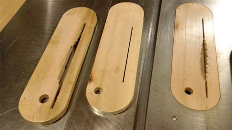How To Make Zero Clearance Insert Table Saw