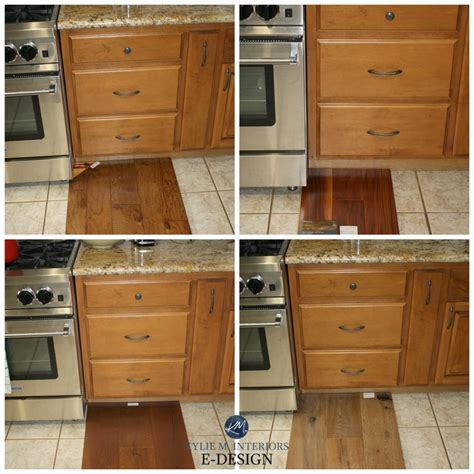 How To Match Wood Stain Colors To Kitchen Cabinets
