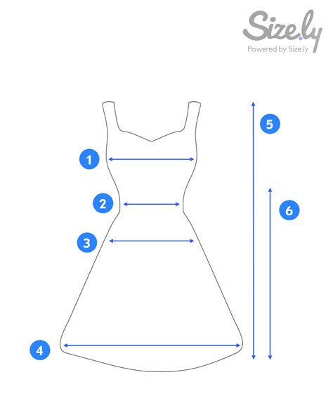 How To Measure A Dress For Sale