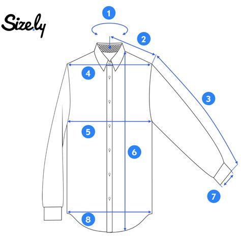 How To Measure A Dress Shirt Neck Size