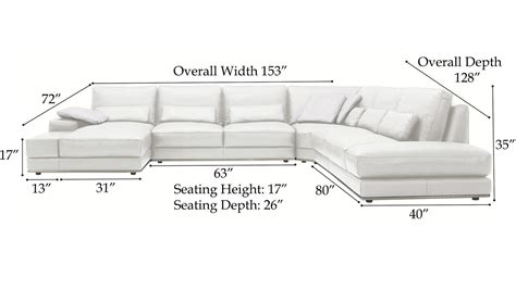 How To Measure A Sectional Sofa Dimensions