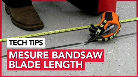 How To Measure Bandsaw Blade Lengths