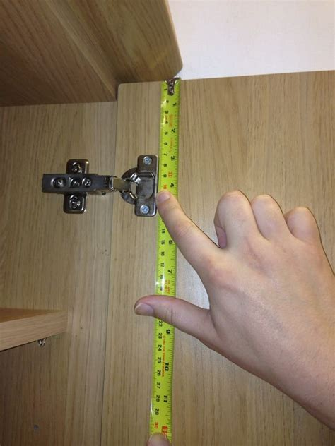 How To Measure Cabinet Door Hinges