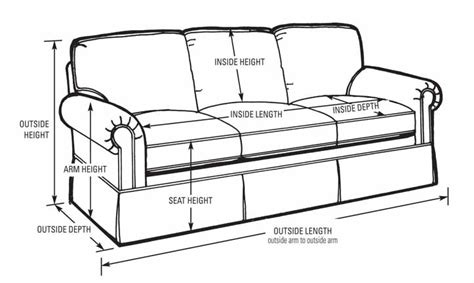 How To Measure Furniture Dimensions In Feet