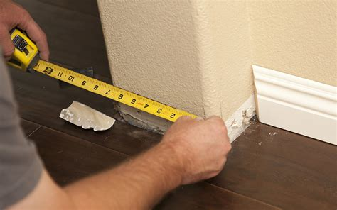 How To Measure Miter Cuts In Baseboard