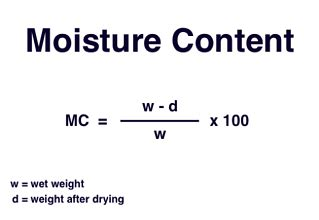 How To Measure Moisture Content In Aggregate