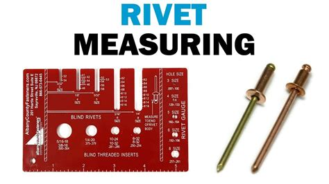 How To Measure Pop Rivets