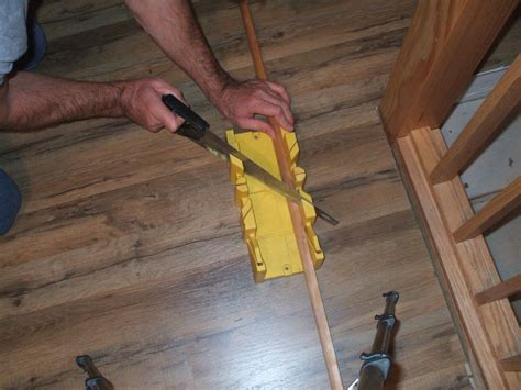 How To Miter Cut Shoe Molding