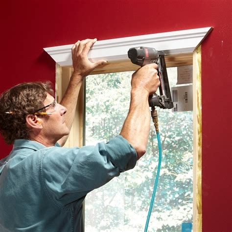 How To Miter Door Casing