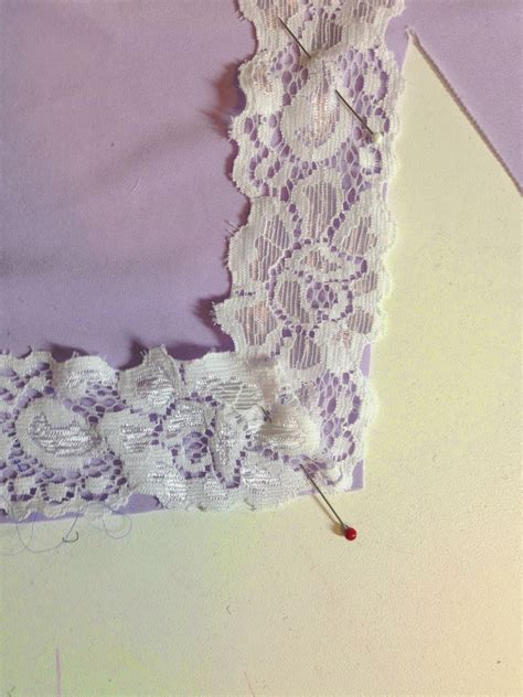 How To Miter Lace Corners