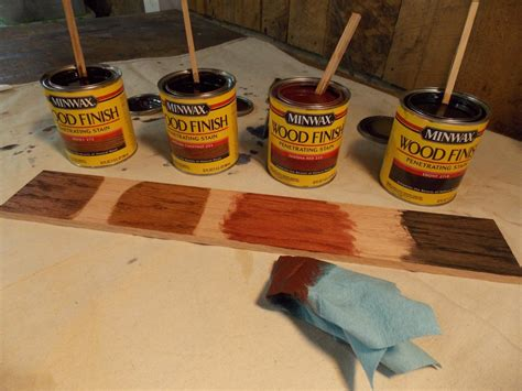 How To Mix Minwax Stains On Maple