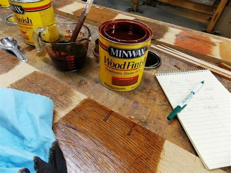 How To Mix Minwax Stains On Pine