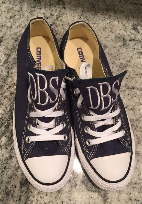How To Monogram Converse Sneakers