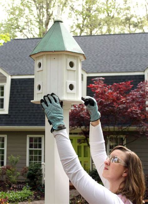 How To Mount A Birdhouse
