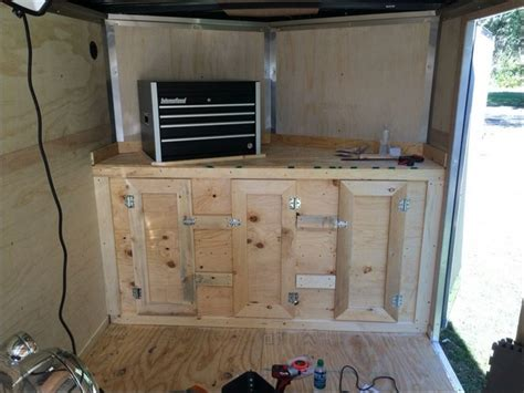 How To Mount Cabinets In An Enclosed Trailer