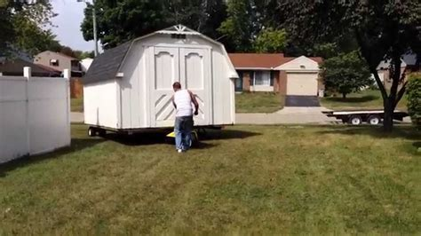 How To Move A Shed Diy