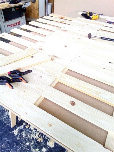 How To Nail Boards Together Horizontally
