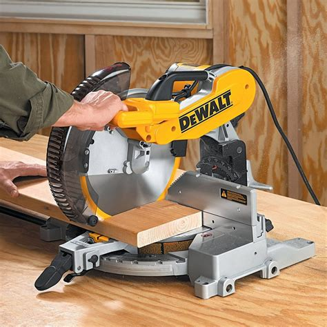 How To Open A Compound Miter Saw