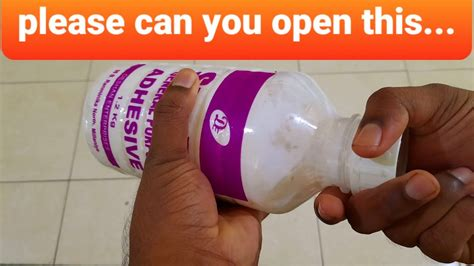 How To Open A Crazy Glue Bottle