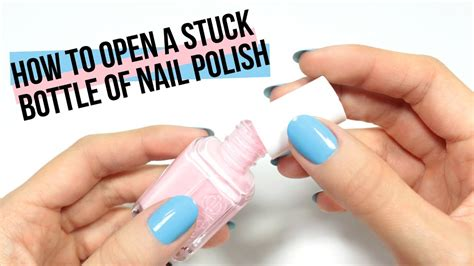 How To Open A Stuck Nail Glue Bottle