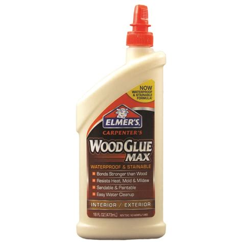 How To Open Elmers Wood Glue Container