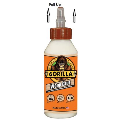 How To Open Gorilla Wood Glue Bottle Dispenser