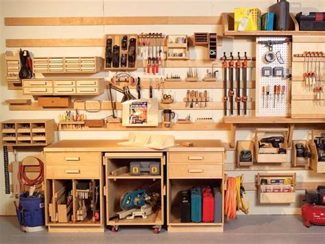 How To Organize A Small Woodworking Shop