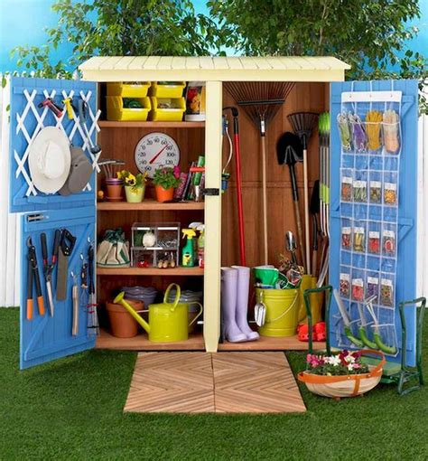How To Organize A Storage Shed