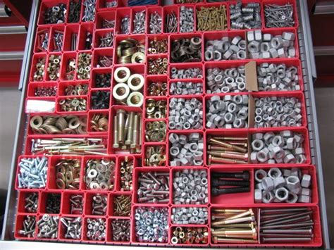 How To Organize Nuts And Bolts In A Workshop