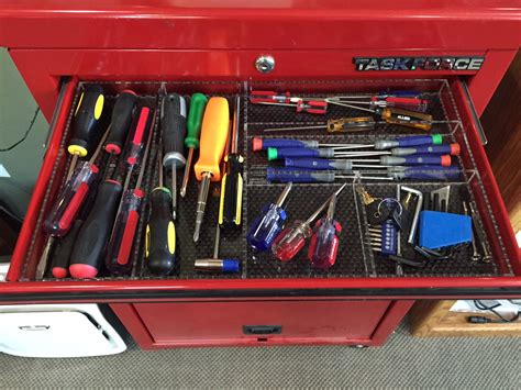 How To Organize Tool Chest Drawers