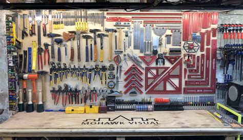 How To Organize Tools On A Wall