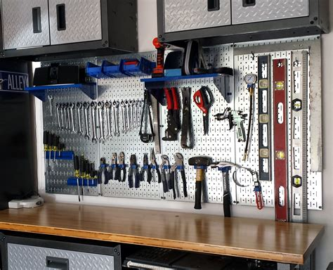 How To Organize Tools On Pegboard Wall