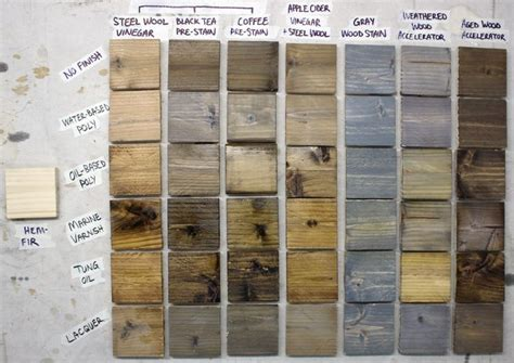How To Oxidize Wood Before Staining