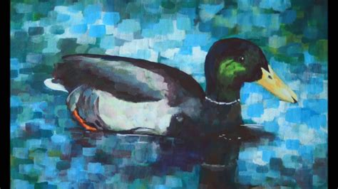 How To Paint A Duck With Acrylic Paint