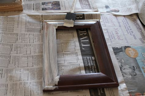 How To Paint A Picture Frame Diy