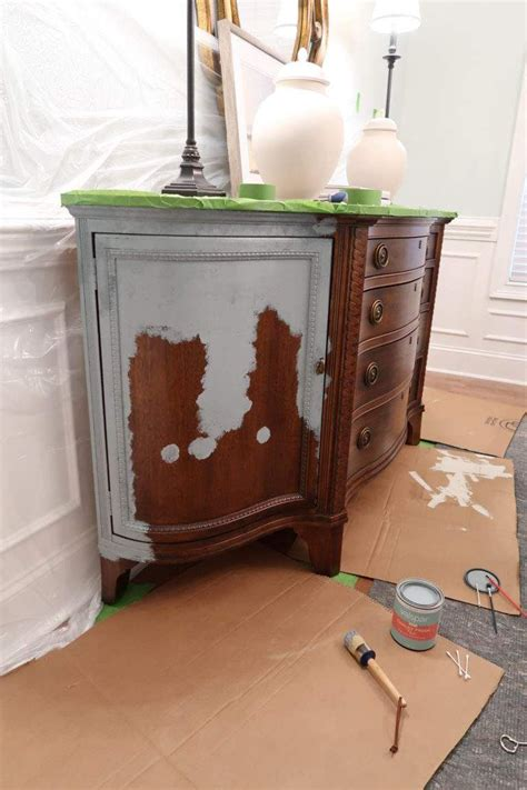 How To Paint A Stained Piece Of Furniture