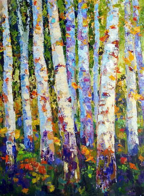 How To Paint Aspen Trees With Acrylics