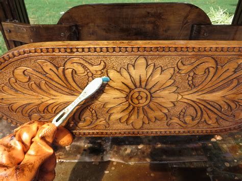 How To Paint Carved Wood Furniture