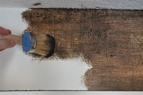 How To Paint Faux Wood Ceiling Beams